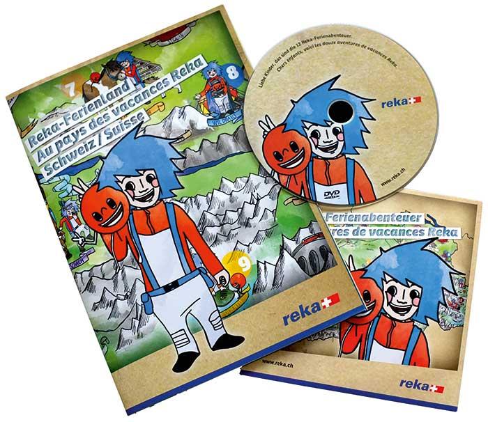 Werbeagentur Blitz & Donner, Bern - DVD Kindermarketing Reka