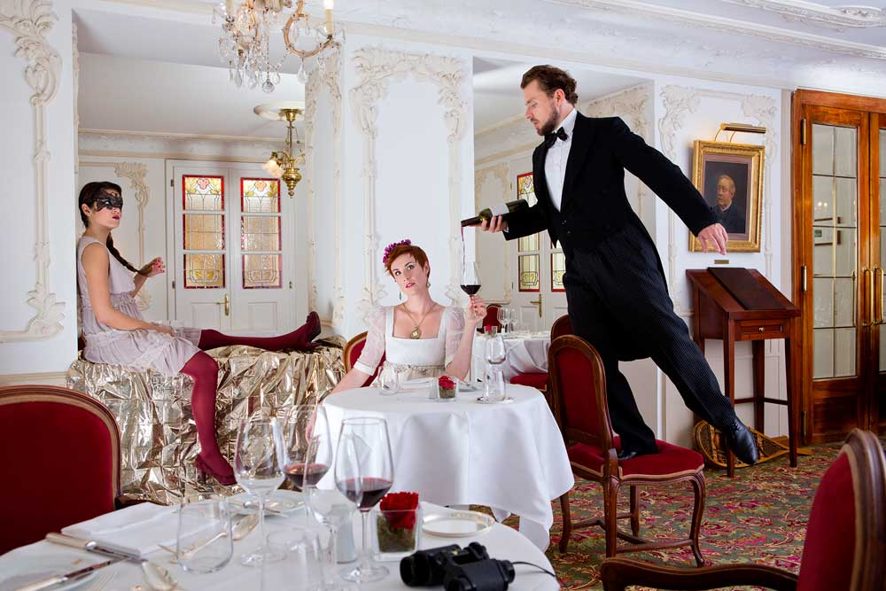 Dining: Blitz & Donner, Werbagentur Bern realisiert neue Bildwelt für Hotel Monte Rosa Zermatt